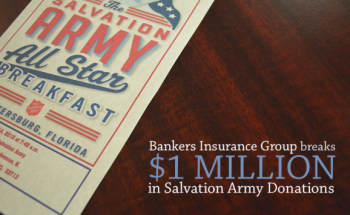 Bankers Insurance Group Breaks $1 Million in Salvation Army ...
